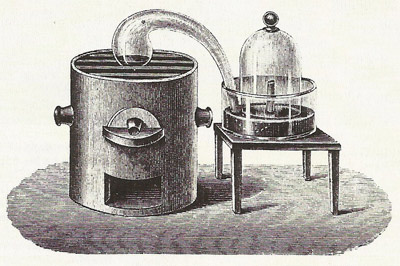 Antoine Lavoisier founded modern chemistry by means of experiments leading to his theory about the nature of combustion