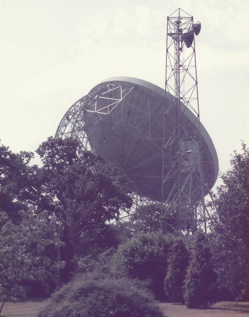 Jodrell Bank Mark IA telescope