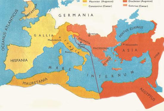 Provincie za Diocletiana
