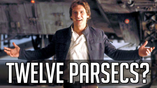12 parsecs, Star Wars