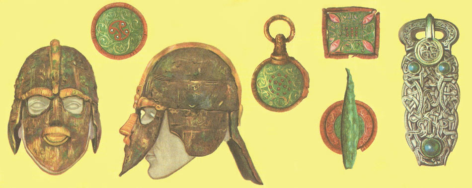 Some of the most important finds from Sutton Hoo
