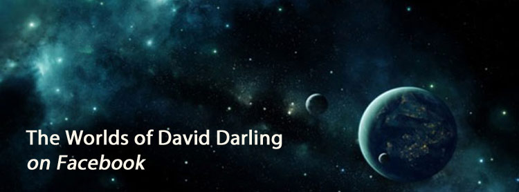 Worlds of David Darling on Facebook