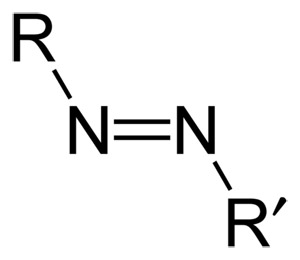 general formular of an azo compound