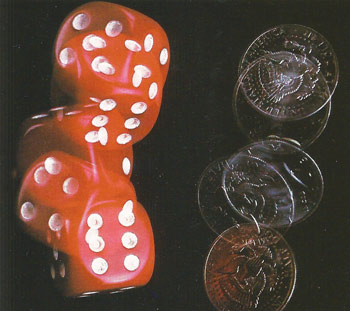 dice and coin tossinh