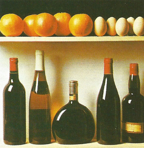 "Five oranges, five hens' eggs, and five bottles of wine all possess the identical property of ""fiveness""."