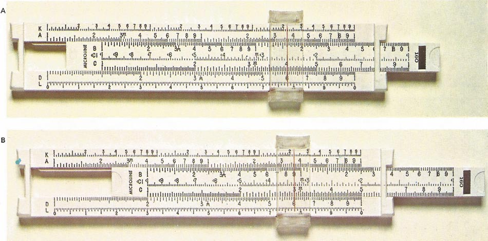 multiplication on a slide rule