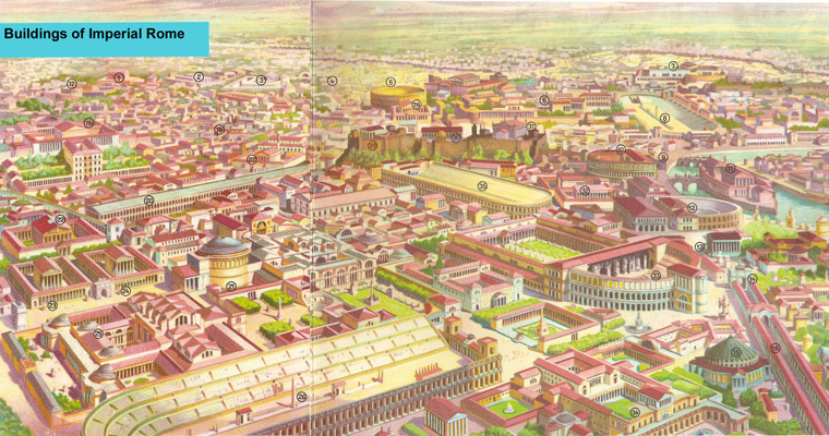 Reconstruction of Imperial Rome