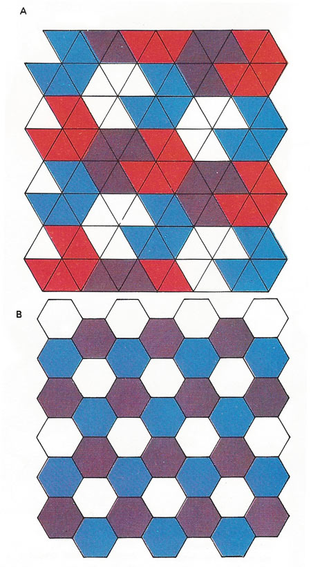 Various polygonal tilings
