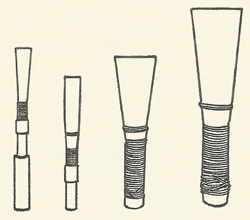 types of reed